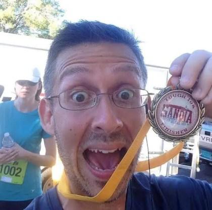 Sandia Mountain Shadows 10k Medal