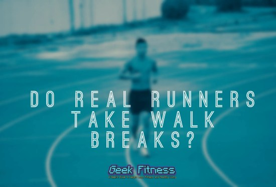 Do real runners take walk breaks