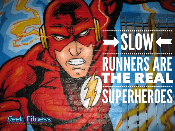Want to learn how to run faster? Don't worry about it.