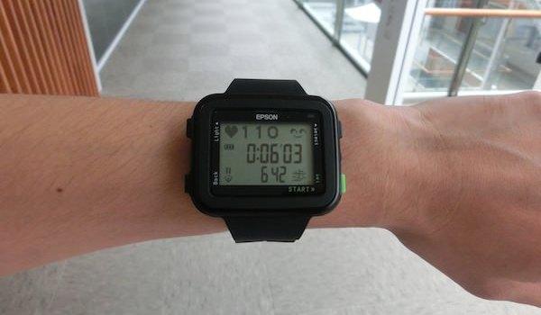 Epson E200 - el reloj que mide el pulso