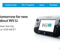 streaming del evento de Nintendo WiiU