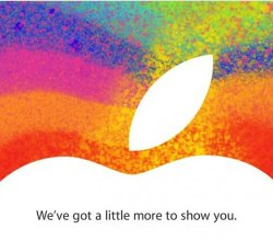 Invitación Apple 23 octubre