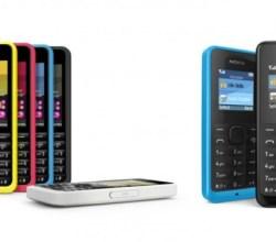 Nokia 305 y Nokia 105