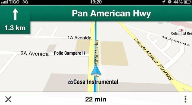 Google Maps Navegación