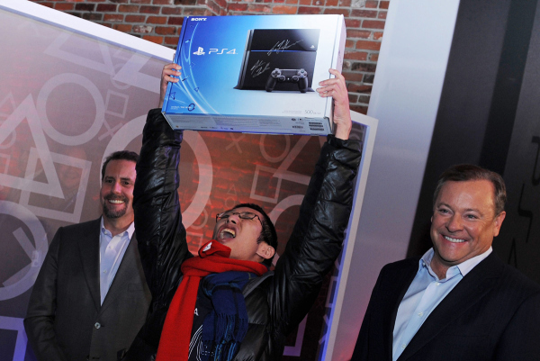 Sony's PlayStation Four Midnight Launch
