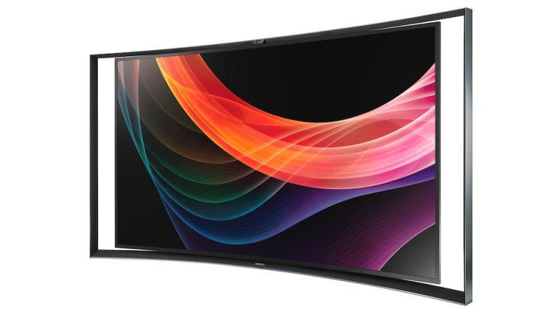 Televisor curvo UHD (4K) de 105 pulgadas