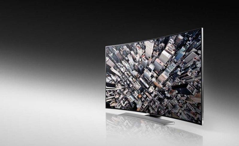 Televisores UHD curvos U9000