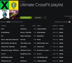Playlist para Crossfit