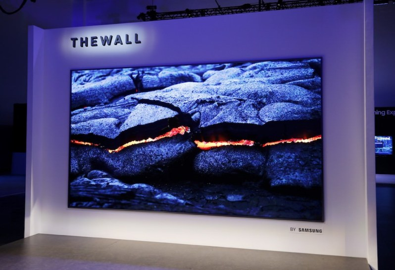The Wall - Samsung CES 2018
