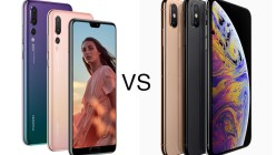 Huawei P20 PRO vs iPhone XS MAX
