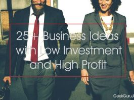 Business Ideas with Low Investment and High Profit