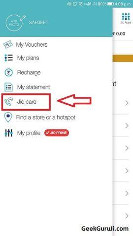 Jio Customer Care Chat