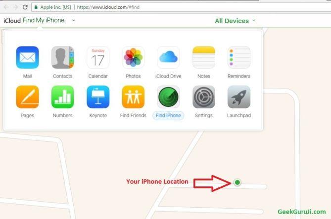 Steps to follow when you lost your iphone -geekguruji