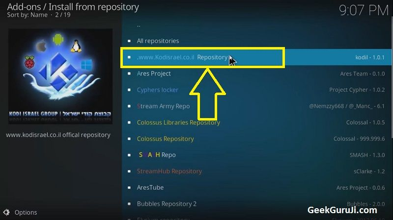 how to get new version of smoothstreams addon kodi