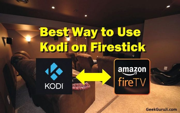 How to Use Kodi on Firestick