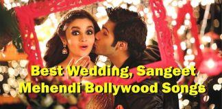 Dance songs For wedding Sangeet-Wedding Songs Hindi for Sangeet, Mehendi