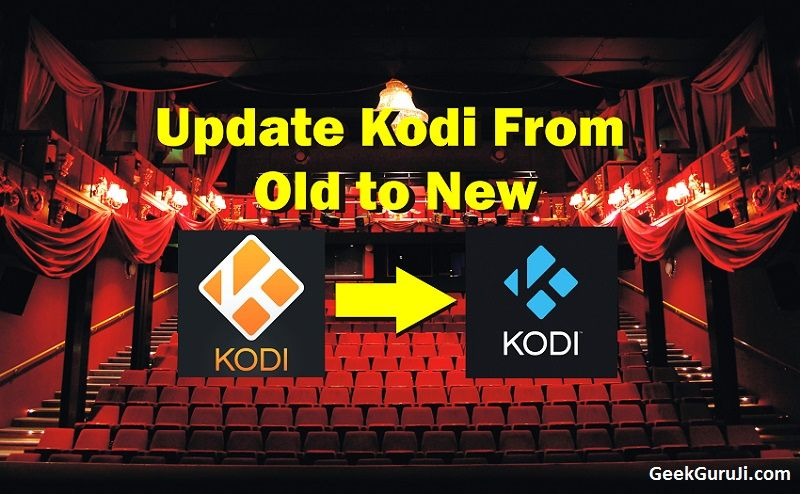 how to update add on kodi