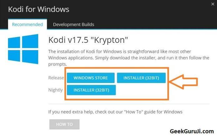 How to Update Kodi onWindows PC