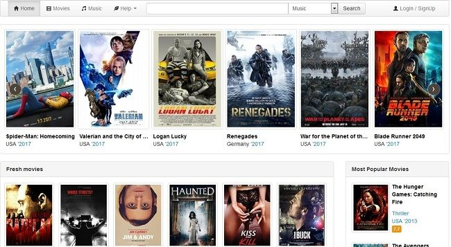 best movie downloading sites for free