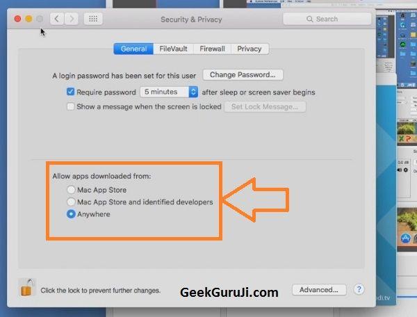 enable update kodi on Mac