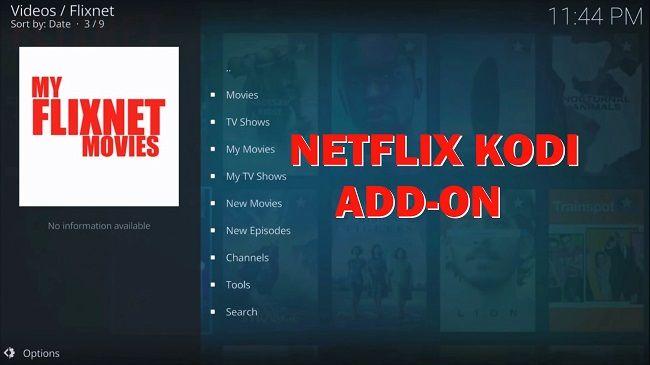 Kodi Netflix Addon