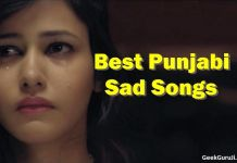 Best Punjabi Sad Songs list