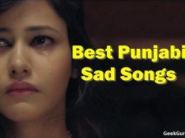 Best Punjabi Sad Songs list