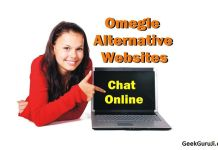 Sites like Omegle alternatives
