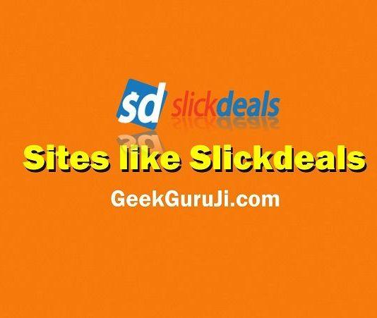 Sites like Slickdeals