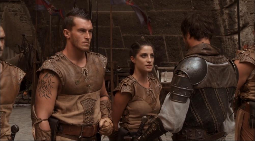 Sir Ansgar speaks to Lina