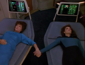 The Troi women represent emotional strength.