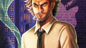 Fables: The Wolf Among Us #1 Cover featuring Sheriff Bigby Wolf.