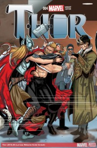 Thor #4 Variant - Salvador Larroca - Marvel