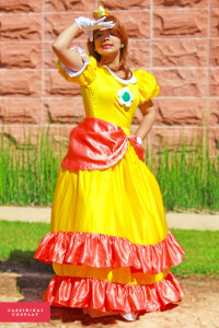 Photo: ERS Photography Series: Super Mario Brothers Cassib - Princess Daisy