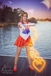 Sailor Venus Cosplay - Photo by Alice Aquarius Photography - facebook.com/pages/Alice-Aquarius-Photographic-Design-Page/597303870284353