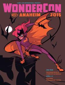 Babs Tarr's Wondercon Program Cover
