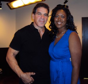Lou Ferrigno with Jill