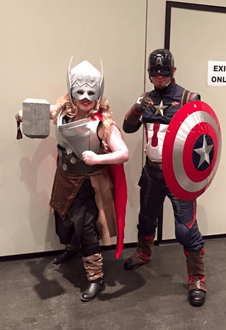Thor and Cap