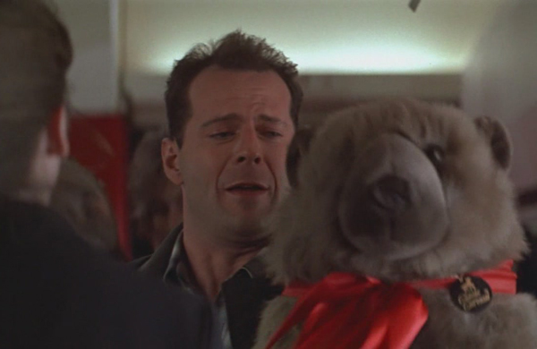 Image result for die hard teddy bear