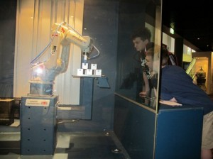 Robot arm in 2010
