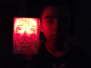 glowing thing
