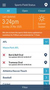 centennial park app