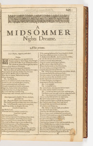 midsomers night dream