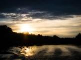 Sunset on Lake Sinclair