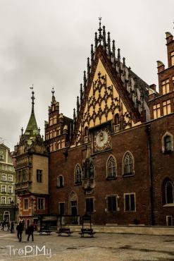 Ratusz na rynku we Wrocławiu