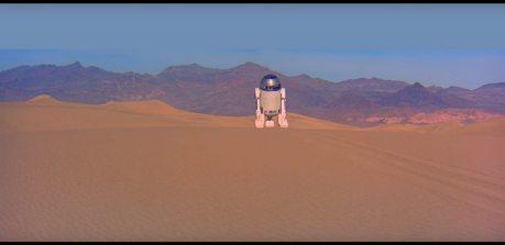 """The Dune Sea - kadr z filmu """"Gwiezdne Wojny"""""""