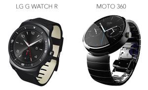 LG G Watch R vs Moto 360