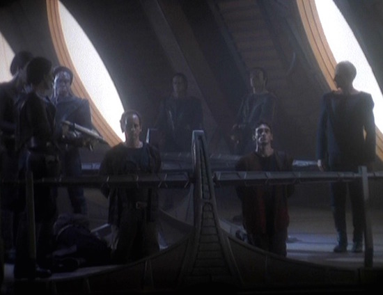 Public Execution of Bajoran Slaves