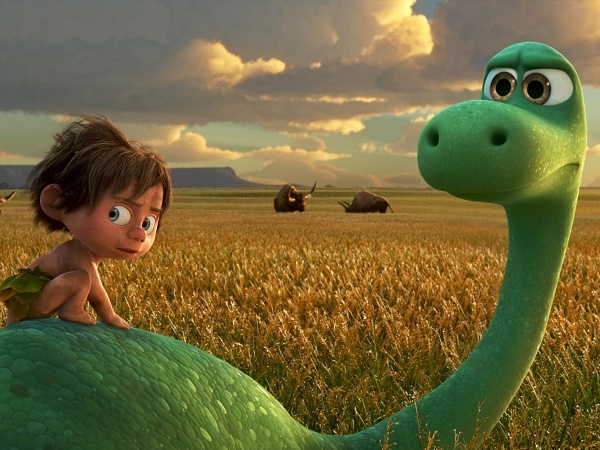 The Good Dinosaur lads, a great bunch of lads.