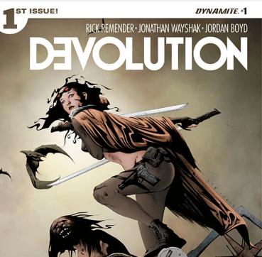 Devolution Issue 1 Cover